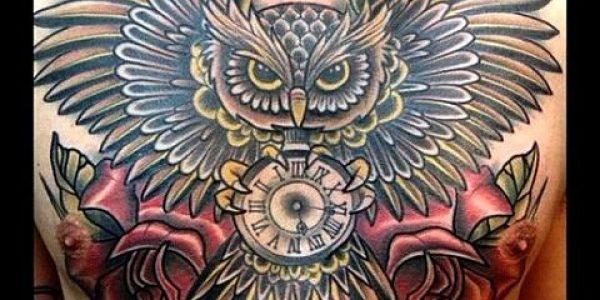 tattoos-de-corujas-con-reloj-1