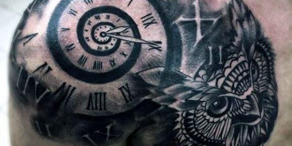 tattoos-de-corujas-con-reloj-2