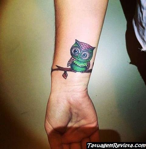 tattoos-de-corujas-en-la-muneca