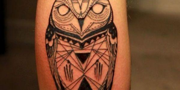 tattoos-de-corujas-tribales