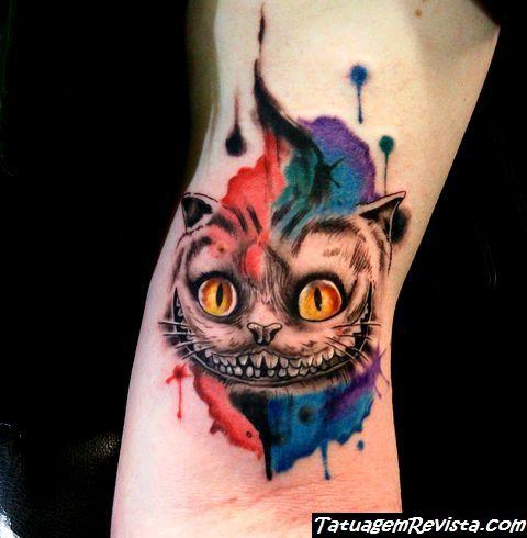 tattoos-de-gato-de-alicia-en-el-pais-de-las-maravillas-gato-de-cheshire-2