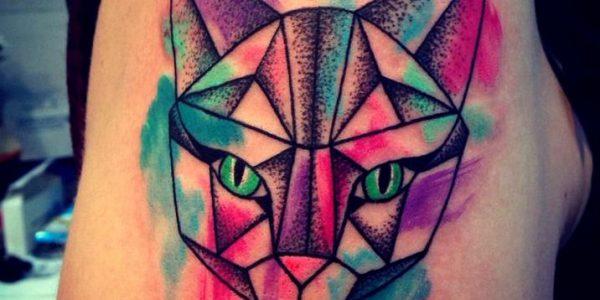 tattoos-de-gatos-al-estilo-acuarela
