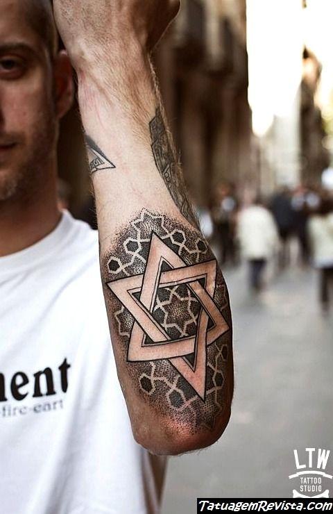 tattoos-de-la-estrela-de-david-1