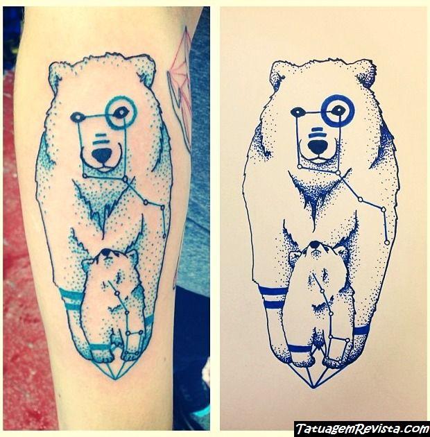 tattoos-de-la-estrela-polar