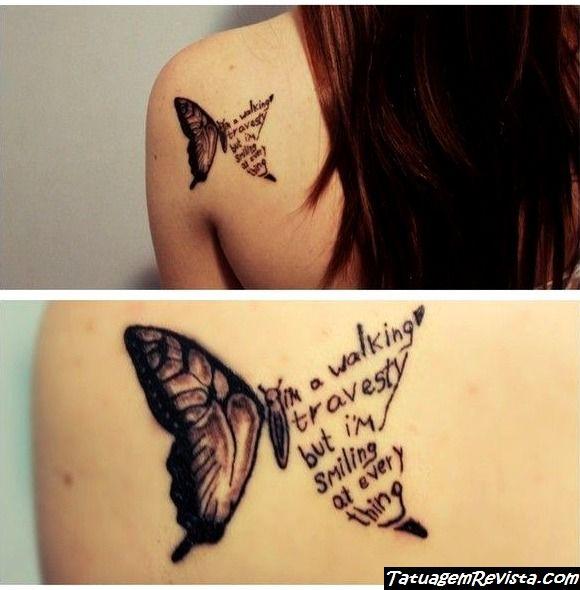 tattoos-de-mariposas-con-texto