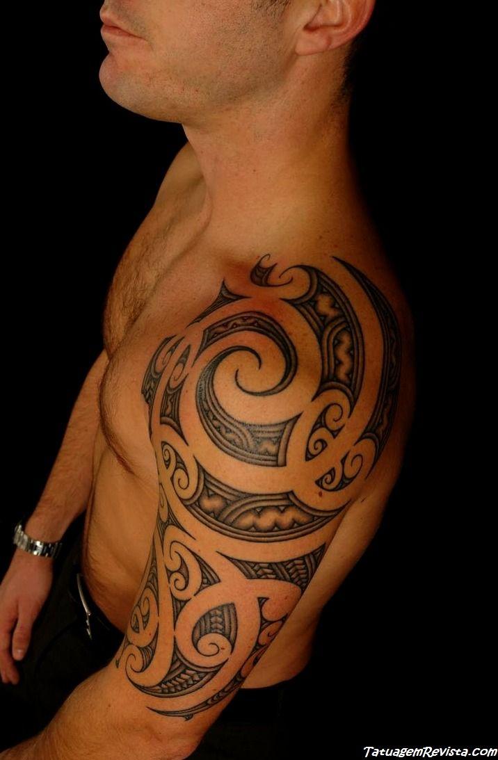 tattoos-maories-etnicos-en-los-ombros-2