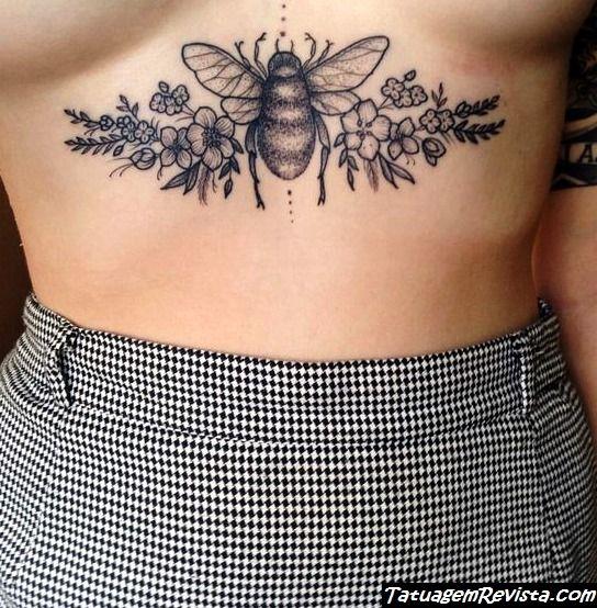 tatuagens-de-abelhas-en-mulheres
