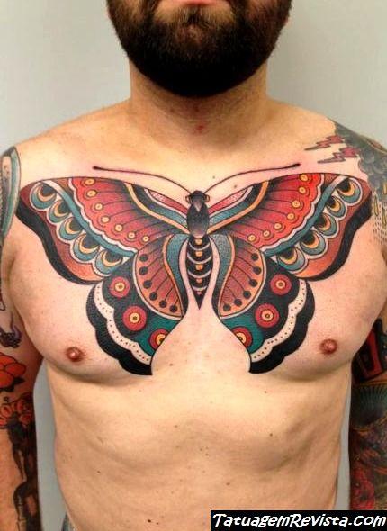 tatuagens-de-borboletas-en-el-pecho