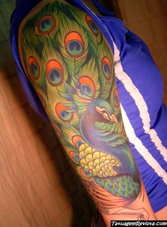 tatuagens-de-pavo-real