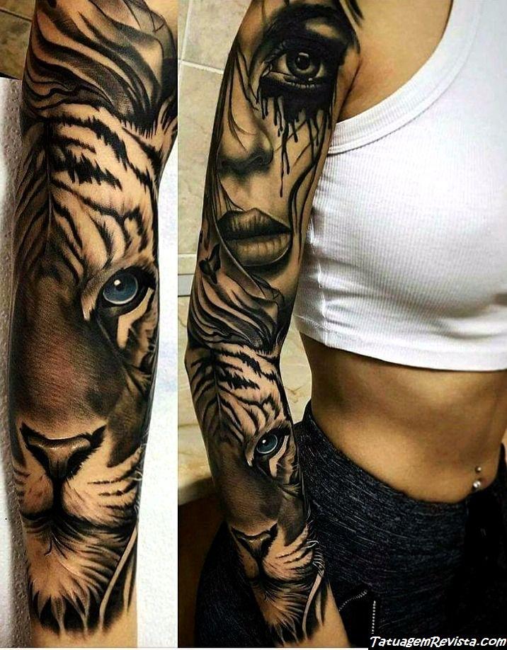 melhores ideias tattoos tatuagens tigres tatuagemrevista. Black Bedroom Furniture Sets. Home Design Ideas