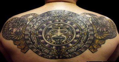 Tatuagens Maias e Astecas