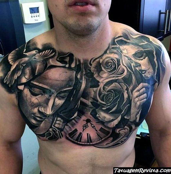 tatuagens-en-el-peito-para-homens
