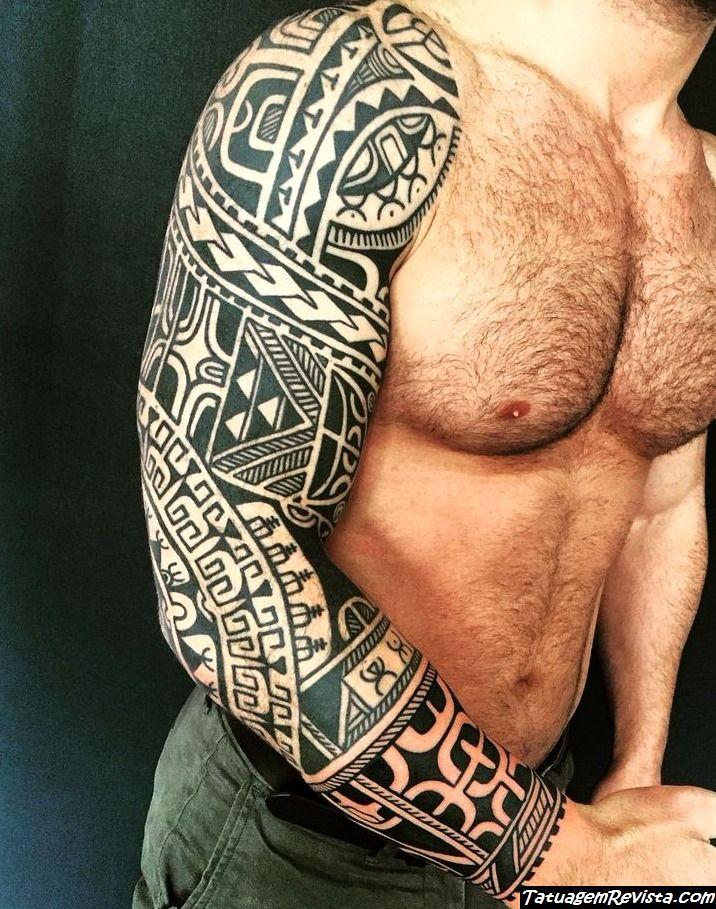 tatuagens-maories-en-el-brazo