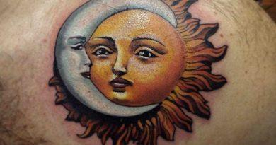 Tatuagens do sol com significado, designs e ideias