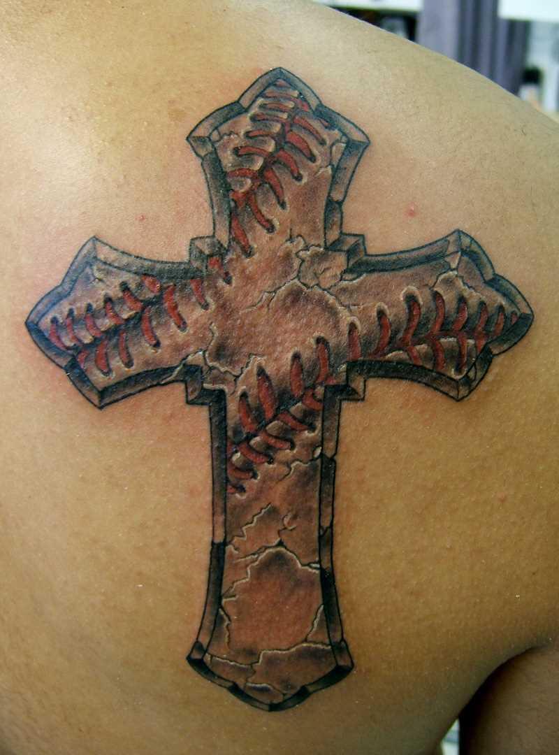 Tattoo blade cara - cruz