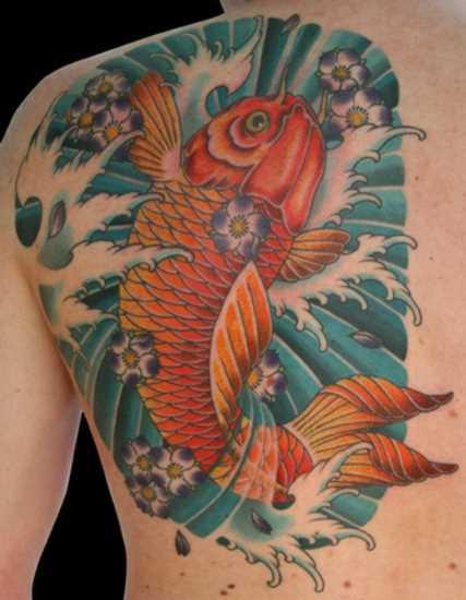 Tattoo blade meninas - carpa