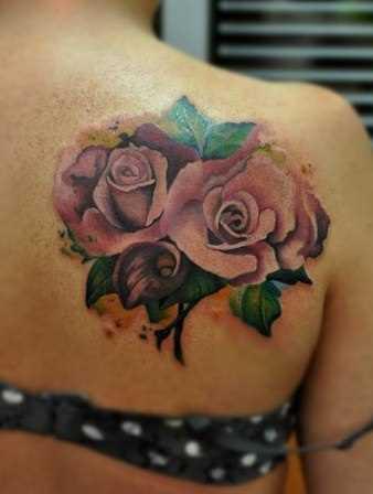 Tattoo blade meninas - rosa