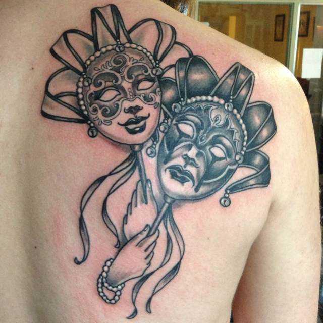 Tattoo blade o cara da máscara