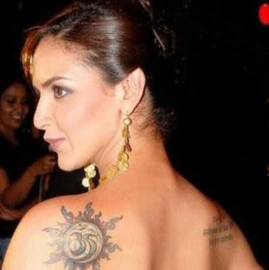 Tatuagem blade a menina - sol
