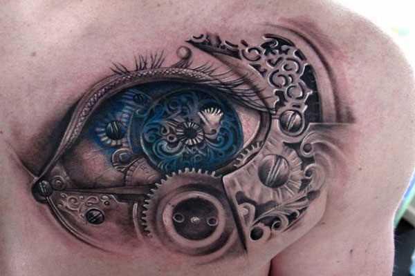 Tatuagem blade cara - de olho
