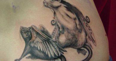 Tatuagens de rato: significado e coleção de designs