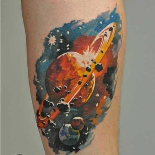 Tatuagem no antebraço cara - o espaço